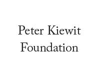 PeterKiewitFoundation-200