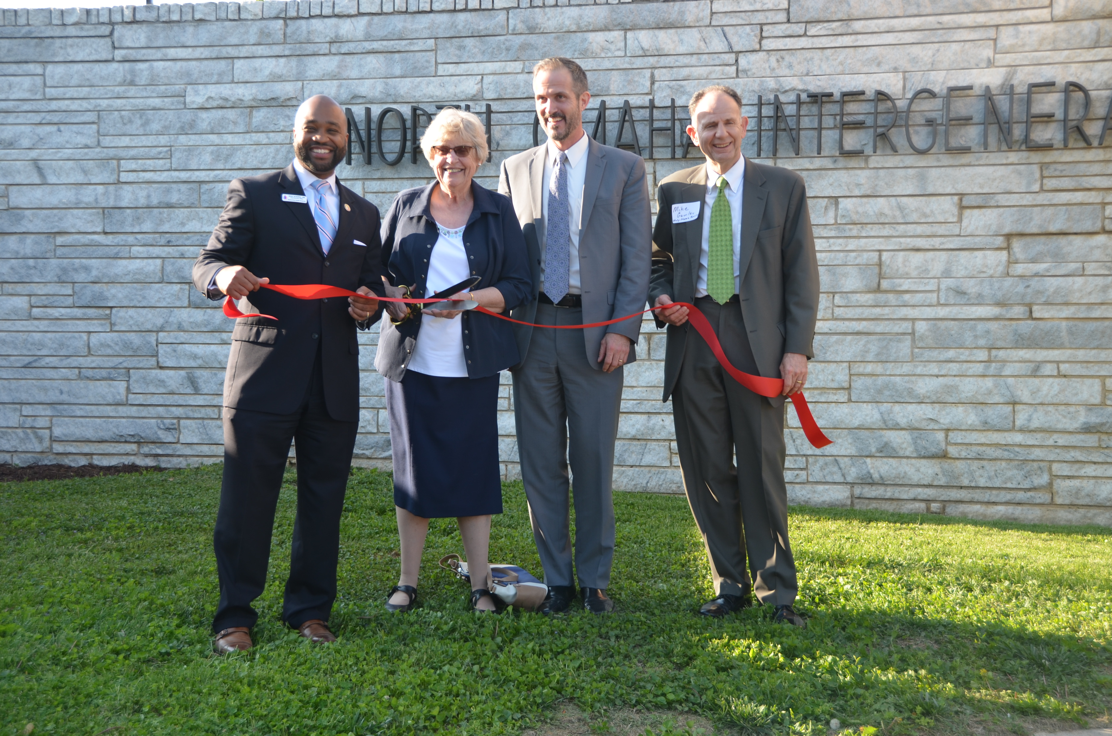 HFS, Holy Name Housing Corp. celebrate opening of North Omaha campus