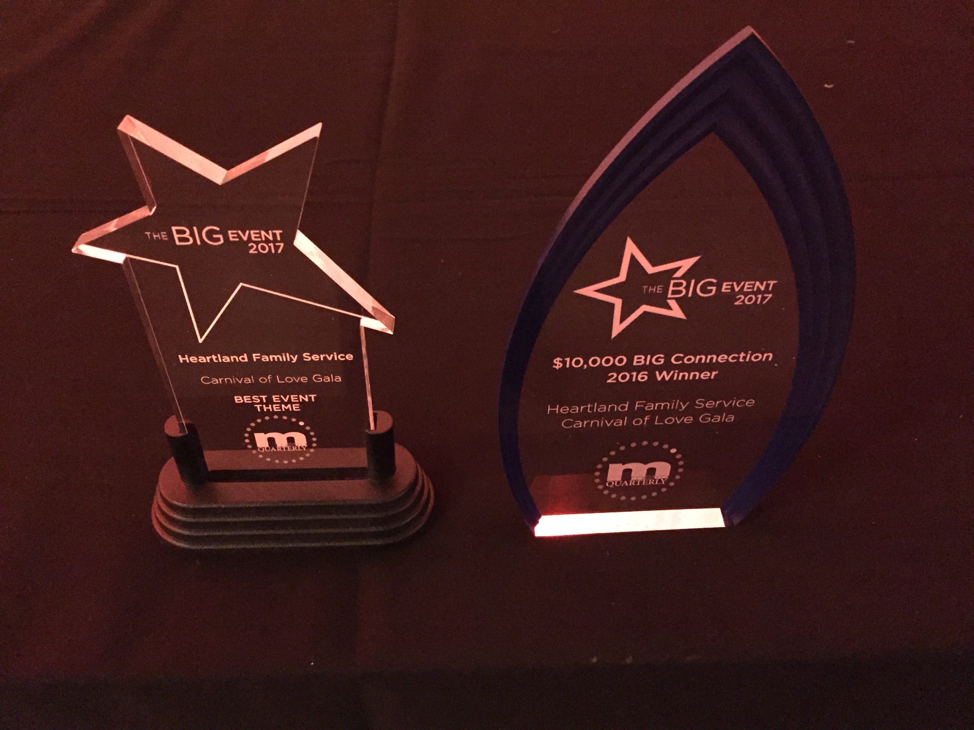 "HFS ""Carnival of Love"" Gala wins two awards"