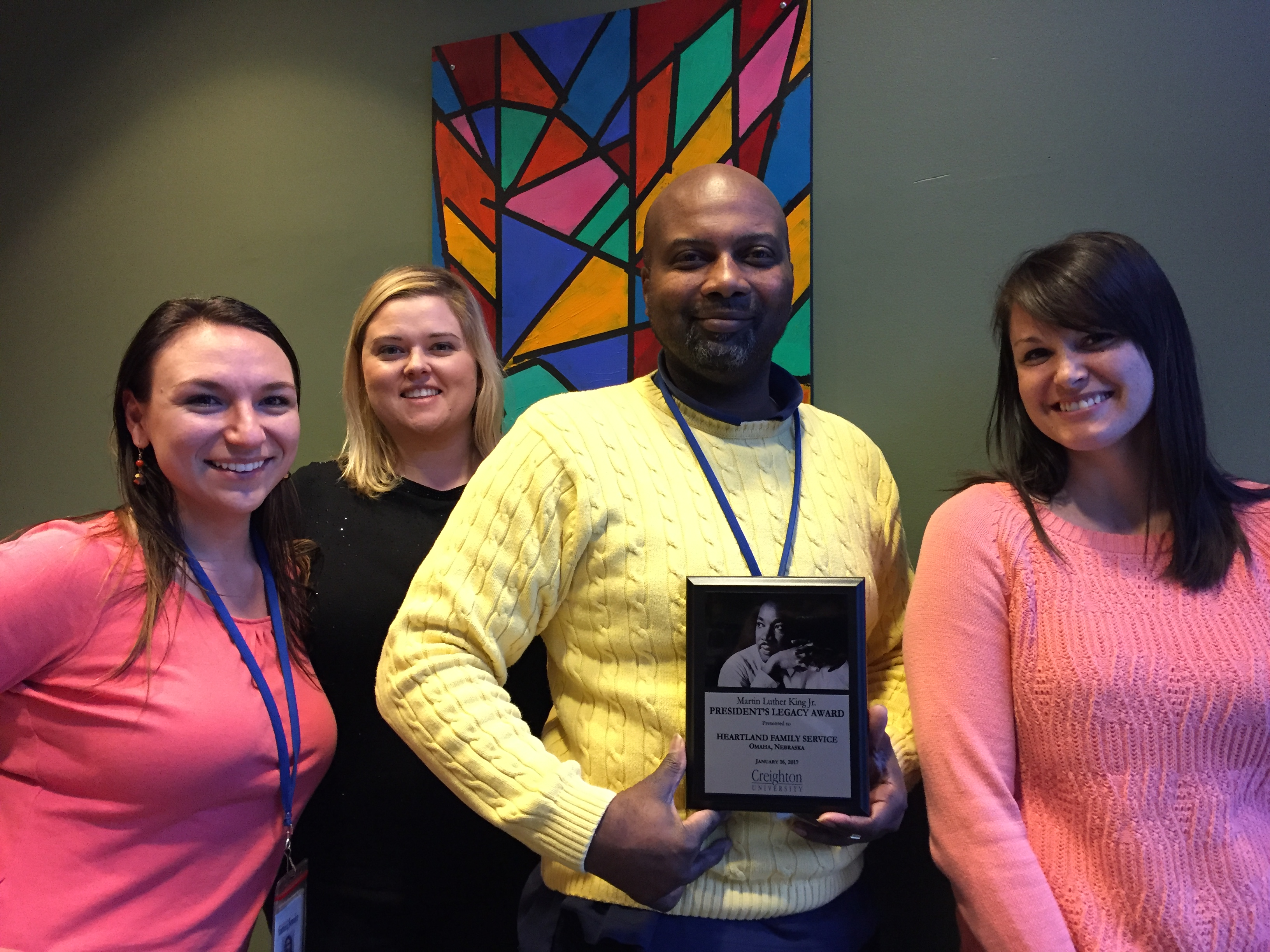 HFS receives Creighton's Martin Luther King Jr. Legacy Award