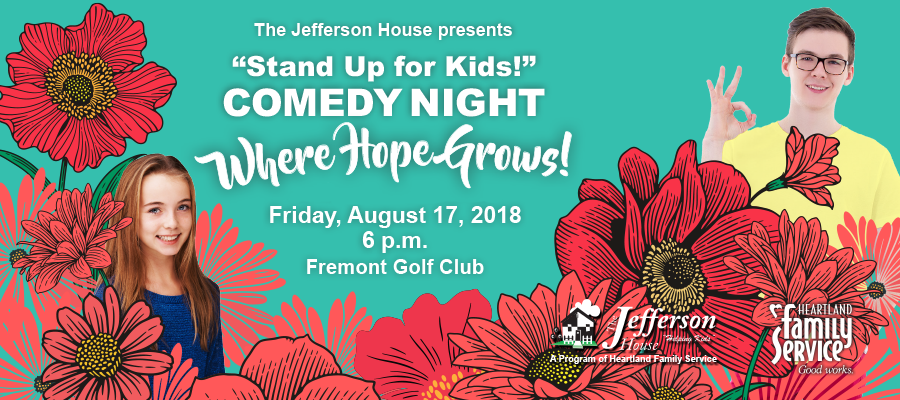 """Jefferson House """"Stand Up for Kids!"""" Comedy Night"""