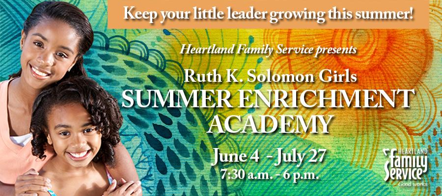 Ruth K. Solomon Girls Summer Enrichment Academy