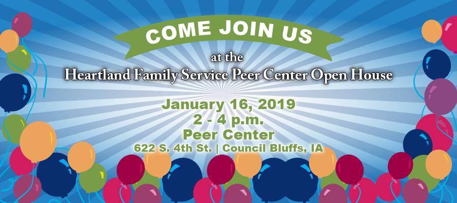 Peer Center Open House