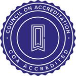 Council on Accreditation Seal logo