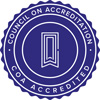 Council on Accreditation Seal Logo
