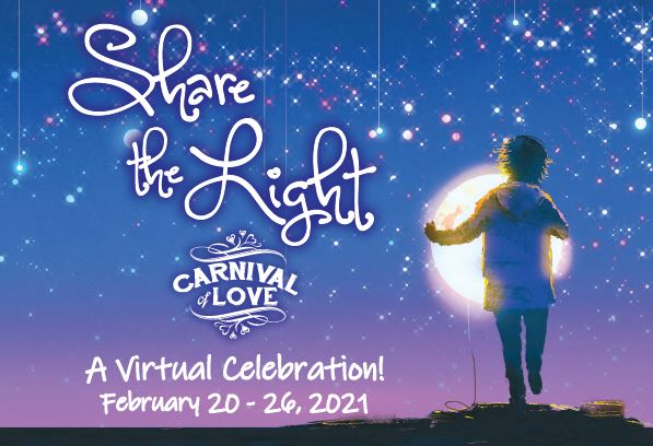 "Heartland Family Service announces 2021 ""Carnival of Love"" Gala, ""Share the Light,"" a virtual celebration"