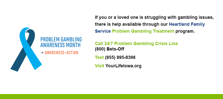 Problem Gambling Frequently Asked Questions